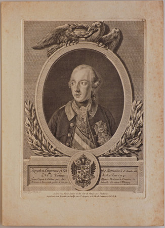 Joseph II. Empereur et Roi des Romains le 18 Aoust 1765 by (JOSEPH II, Holy Roman Emperor).