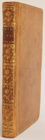 Titus, tragédie en cinq actes. Avec des Observations sur la poësie dramatique adressées à M. de Voltaire. by BELLOY, Pierre-Laurent Buirette de.