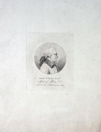 Kane O'Hara Esqr. Author of Midas &c. by O'HARA, Kane. [Edmund DORRELL, engraver].
