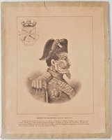Portrait autobiographique de S.M. Invasion III. by (NAPOLEON III.)