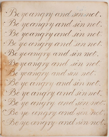 [Copybook. by BLUNDELL, William.
