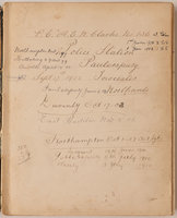 [Account book. by (POLICE). CLARKE, A.E.W, Police Constable no 136.