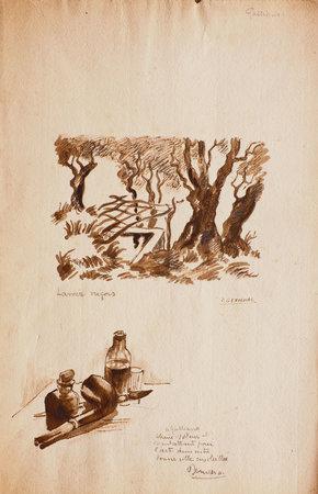 La Mer de Nice, lettres à un ami. Introduction et notes de Marcel Provence. by BANVILLE, Théodore de. Georges GOBÔ, illustrator.