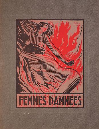 Femmes damnées. by BAUDELAIRE, Charles. E. BRACQUEMOND, illustrator.