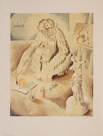 À la Manière de... by REBOUX, Paul and C[harles] MÜLLER. Georges GAUDION, illustrator.