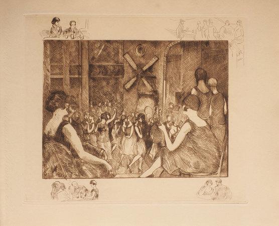 Images secrètes de Paris. by MAC-ORLAN, Pierre. [Gustave] ASSIRE, illustrator.