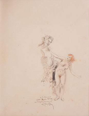 Journal d'une femme de chambre. by MIRBEAU, Octave. Alméry LOBEL-RICHE and COURBOULEIX, illustrators.