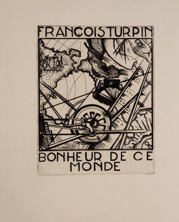 Bonheur de ce monde. by TURPIN, François. Gio COLUCCI, illustrator.