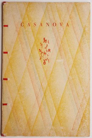 Fünf Episoden. Mit zehn Originallithographien von Josèphe Verheyen. by (CASANOVA, Giacomo). Josèphe VERHEYEN, illustrator.