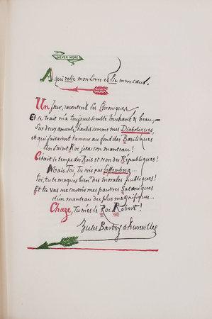 Le Bonheur dans le crime. Préface par Paul Festugière. by BARBEY D'AUREVILLY, Jules.