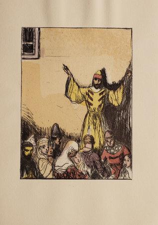 Boris Godounov, drame de A. S. Pouchkine. Traduction de E. Vivier-Kousnetzoff. Décoration de G. Braun. by PUSHKIN, Aleksandr Sergeevič.