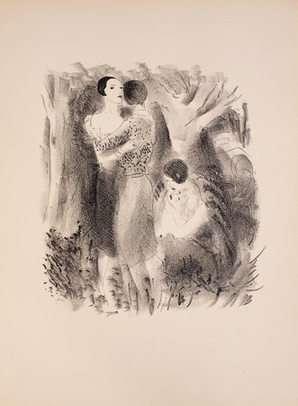 Dames seules. by VERTÈS, Marcel, illustrator. Francis CARCO.
