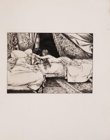 Angelicus et Pudica. by CHRISTIAN-LE-THÉLÉMITE. Chéri HÉROUARD, illustrator.
