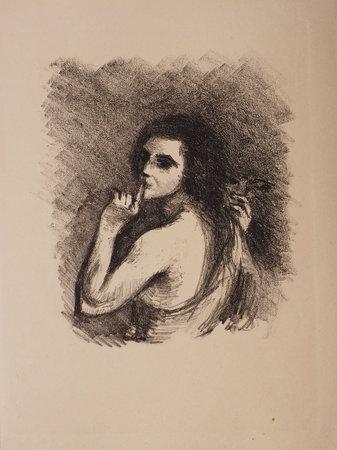 Ouverture du printemps. by JAMMES, Francis. Jean MARCHAND, illustrator.