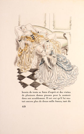 La Belle sans chemise ou Ève ressuscitée. by LEROY, Maurice, illustrator.