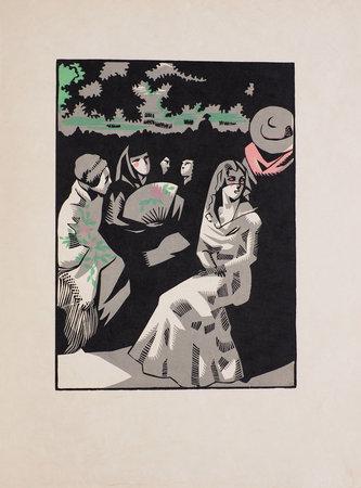 Douze dessins pour l'amour de Goya. by (GOYA). René Georges HERMANN-PAUL.