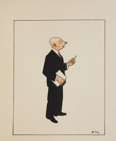 Silhouettes de Boursiers. Dessins originaux de René De Pauw. by HERMANS, Jacques. René de PAUW, illustrator.
