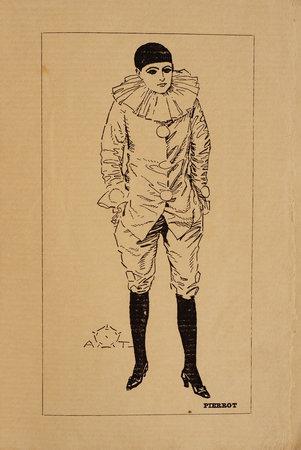 Histoire d'un Pierrot. Reproduction cinématographique de la pantomime musicale. by BEISSIER, Fernand and Mario COSTA.