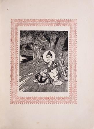 La Vie et les paroles merveilleuses de Bouddha Gaudama de Kapilavastu. by REY, Pierre. A[ndré] JOYEUX, illustrator.