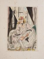 L'Assomoir. by ZOLA, Émile. DIGNIMONT and COURBOULEIX, illustrators.