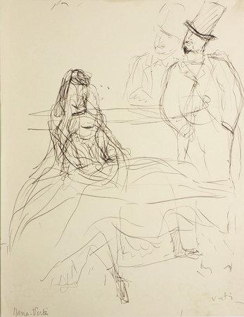 Nana. by ZOLA, Émile. Marcel VERTÈS, illustrator.