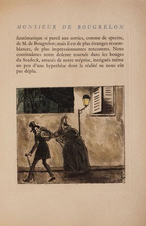 Monsieur de Bougrelon. by LORRAIN, Jean. Zyg BRUNNER, illustrator.