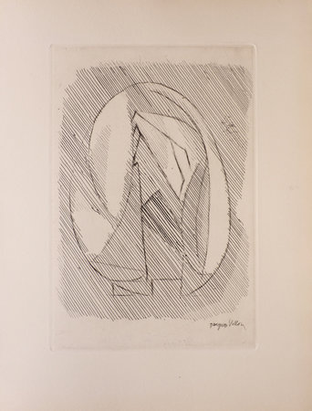 La Soif du jonc. by GHIKA, Tiggie. Jacques VILLON, illustrator.