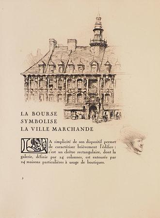 La Bourse de Lille. by PARENT, Paul. Omer BOUCHERY, illustrator.