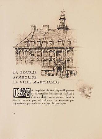 La Bourse de Lille. by PARENT, Paul. Omer BOUCHERY, illustrator.