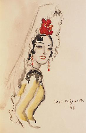Carmen. by MÉRIMÉE, Prosper. José de ZAMORA, illustrator.