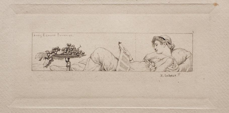 Pétrone (Introduction & fragments). by (PETRONIUS). DOUCET, Jérome. Louis-Édouard FOURNER, illustrator.