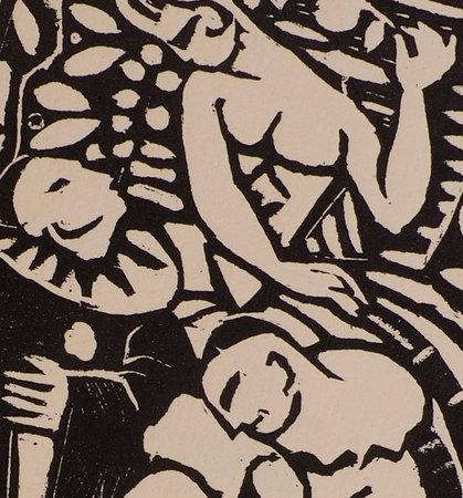 Noir & Blanc. Fantaisie en 2 actes. by VARILLON, Marc. L. RIOU and Mad VAURY, illustrators.