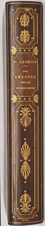 Une Amazone sous le Premier Empire. Vie d'Ida St-Elme. by LACHIZE, Henri. Charles THÉVENIN, illustrator.