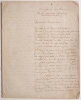 Analyse de mes Souvenirs sur la Révolution française. by [BAUDOUIN, François-Jean]. TACHERON, Docteur, copyist.