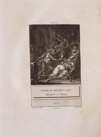 Histoire d'Angleterre, représentée par figures accompagnées des Discours. by DAVID, François-Anne, illustrator.