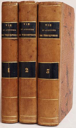 La Vie et les aventures de Joseph Thompson. Traduit de l'anglois. by [KIMBER, Edward].