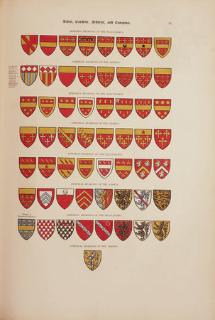 Histories of Noble British Families with biographical Notices of the most distinguished Individuals in Each. Illustrated by their armorial Bearings Portraits Monuments Seals etc. by [DRUMMOND, Henry].