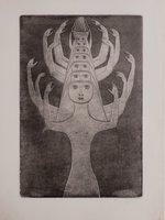 Le Livre des mortes. by PRINNER, Anton, illustrator.