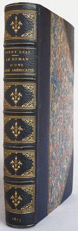 Le Roman d'une Américaine en Russie accompagné de lettres originales. by 'LEAR, Fanny', [pseudonym of Harriet Ely BLACKFORD].