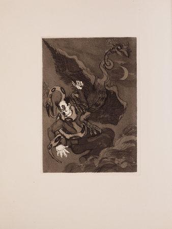Contes fantastiques. by FARGUE, Leon-Paul. André VILLEBOEUF, illustrator.