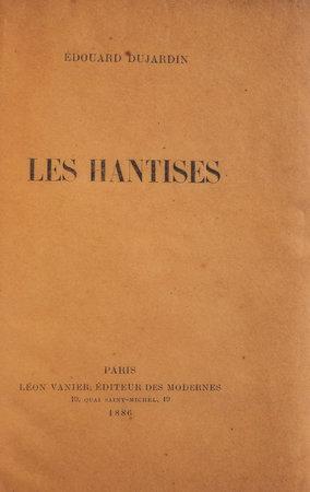 Les Hantises. by DUJARDIN, Édouard.