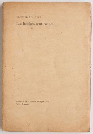 Les Lauriers sont coupés. by DUJARDIN, Édouard. Jacques E. BLANCHE, illustrator.