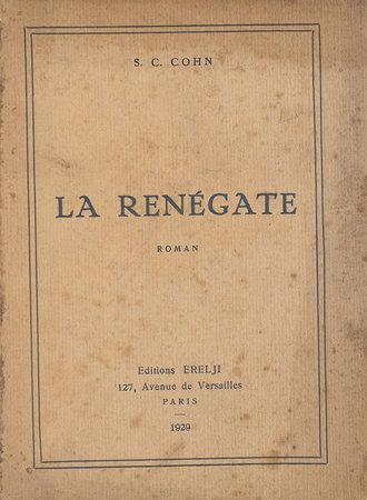 La Renégate. by COHN, S. C.