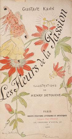 Les Fleurs de la Passion. by KAHN, Gustave.