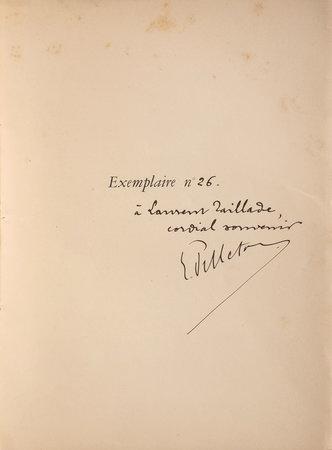 Almanach du Bibliophile pour l'année 1901. by PELLETAN, Édouard. Eugène GRASSET, illustrator.