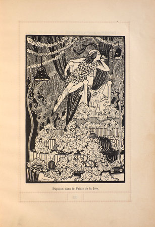 Conte Sous-Marin. Papillon, Roi de Ruthie, Fanfreluche, Annette et Doric. by HOVINE, Laure. Jeanne HOVINE, illustrator.