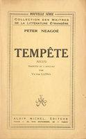 Tempête. Récits. by NEAGOÉ, Peter. Victor LLONA, translator.