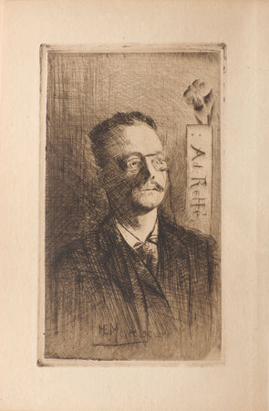 Thulé des brumes. by RETTE, Adolphe. E. H. MEYER, frontispiece