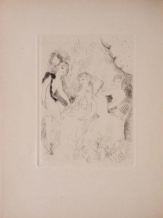 Les Belles a table suivi du Coup du milieu. by DES OMBIAUX, Maurice.
