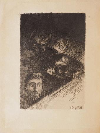 Cloches en la nuit. by RETTÉ, Adolphe. Émile-H. MEYER, illustrator.